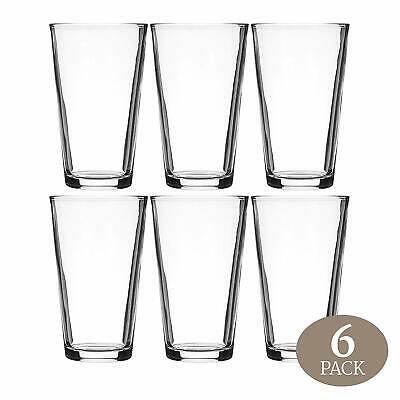 Beer Pint Glass Cocktail Shaker Perfect For Pub, Home Bar or Everyday Use 16 Oz