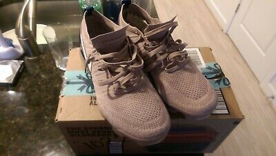 Nike Air Vapormax Flyknit 2 Diffused Taupe Phantom 942842 201 Men's Size 12