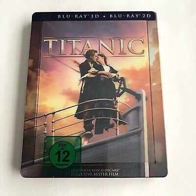Titanic Blu-ray Steelbook (3D+2D) Lenticular Limited Edition  OOP SOLD OUT RARE!