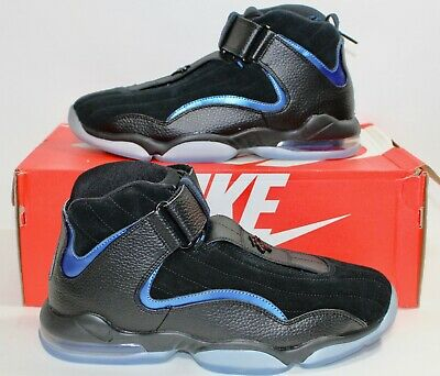 50f3a0177e0b 2017 Nike Air Max Penny 4 Orlando Magic Black Blue Hardaway 864018-001  160  9.5