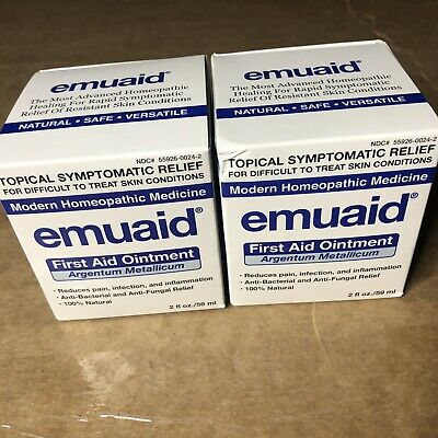 EMUAID Natural Pain Relief Anti-Inflammatory Therapy Skin Care Cream - 2 Bottles