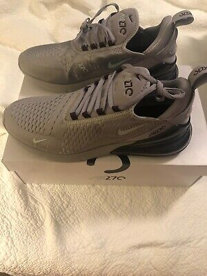 d3622d978d43 Nike Air Max 270 Grey Silver AH8050-016 Running Shoes Men s Size 10.5 NEW W