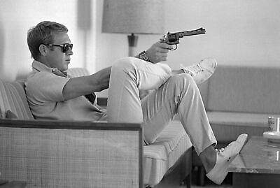 Steve Mcqueen 8X10 Glossy Photo Picture Image #2