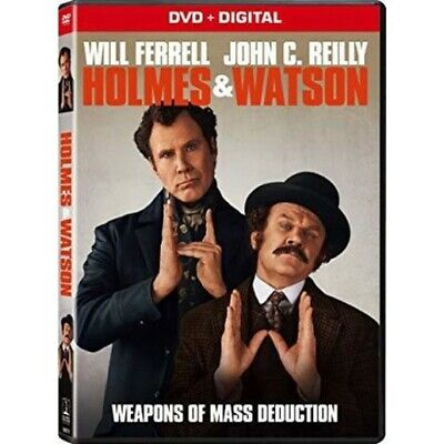 Holmes And Watson (DVD,2018) (Disc Only) Adventure, Comedy- FREE SHIPPING!!!!!