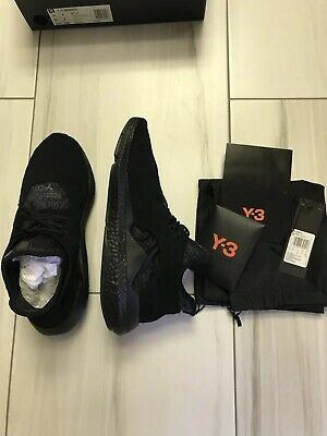 6311295df SLIGHTLY USED - Y-3 Saikou Adidas Men Size 9.5 Triple Black ...