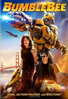 Bumblebee 2019 DVD (Disc Only) US Seller Fast Free Shipping