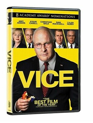 VICE DVD (DVD, 2018) (DVD, 2019)  FREE SHIP USA SELLER (Disc Only)