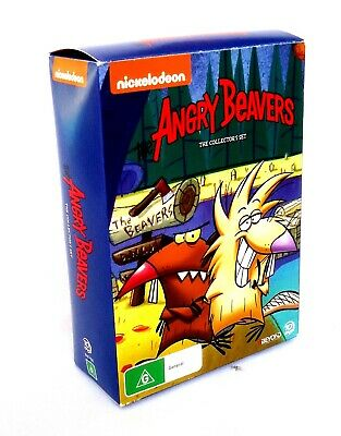 The Angry Beavers (DVD 10-Disc Box Set) Featuring 62 Episodes from Seasons 1-4