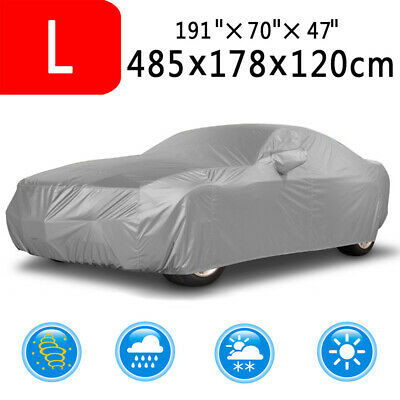 Large Car Cover Waterproof UV Protection Breathable Outdoor Indoor Fit For Sedan