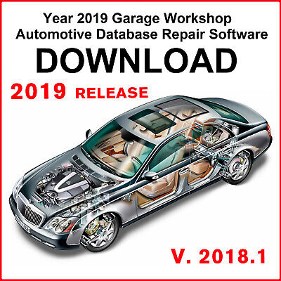 Newest 2019 Release Garage Workshop Data Repair Software 2018.1 33GB 2017