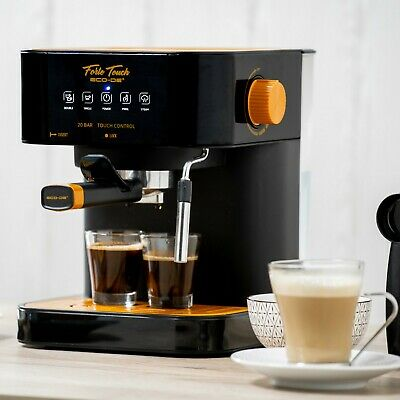 ECO-DE Cafetera Forte Touch Espresso  20 Bar Express 1.6L Panel Táctil ECO-420