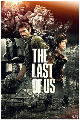 The Last of Us Game Art Silk Fabric Poster Ellie 13x20 24x36 inches 004