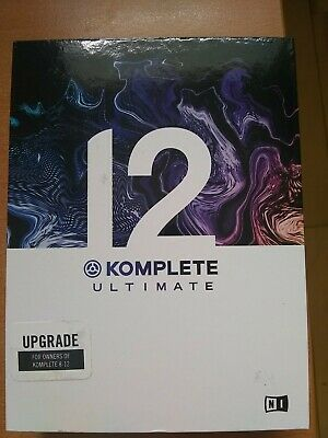 New Native Instruments Komplete 12 Ultimate Upgrade From 8-12 (25791)