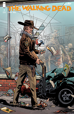 The Walking Dead #1 - 1St Print - Image - Bagged And Boarded. Free Uk P+P