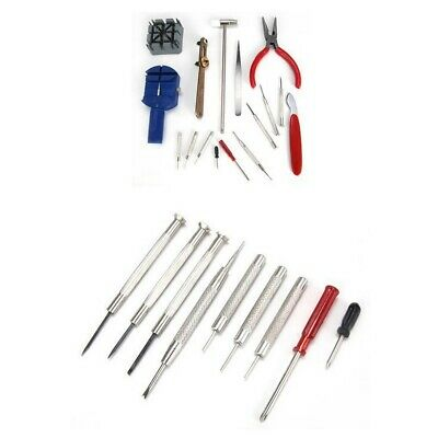 GC 16pc Multi-Purpose Watch Repair Tool Kit With Nail Chain Remover Opener
