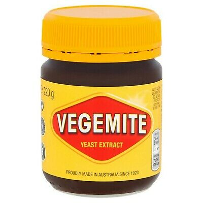 Kraft Vegemite Concentrated Yeast Extract 1 Jar 220G