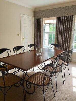 Grange (French) Cherrywood Table & 8 Chairs