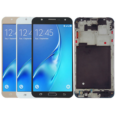 For Samsung Galaxy J7 2015 J700 J700M LCD Display Touch Screen Digitizer + Frame