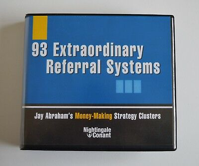 93 Extraordinary Referral Systems - Jay Abraham - Audiobook 5CDs