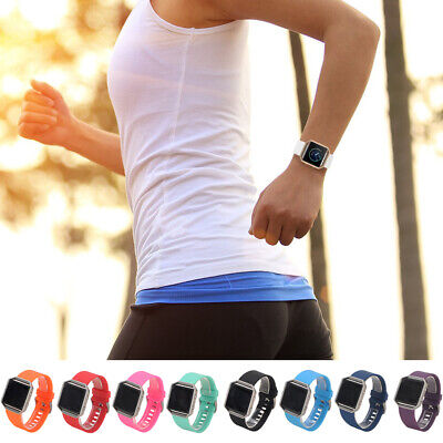 Replacement Silicone Watch Bands Wrist Strap For Fitbit Blaze bracelet L/Small