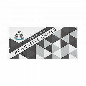 Newcastle United F.C. Beach Towel – Personalise with Any Name