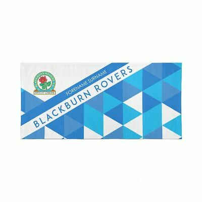 Blackburn Rovers F.C. Beach Towel – Personalise with Any Name