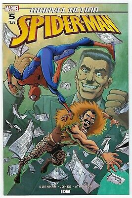 Marvel Action Spider-Man # 5 Cover A NM Pre Sale Ships June 12th