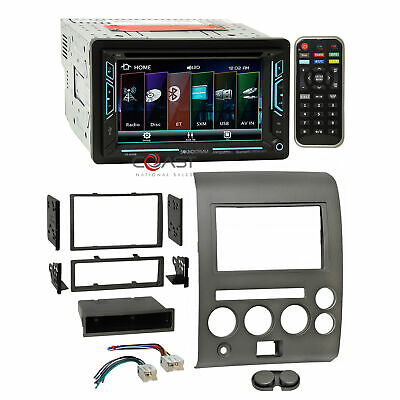Black Scosche NN1642B 2007-Up Nissan Altima with Pocket and Double Din Kit