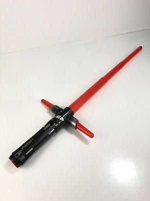 Star Wars The Force Awakens Kylo Ren Extendable Lightsaber Lights And Sound