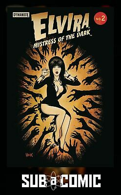 ELVIRA MISTRESS OF DARK #2 COVER C HACK (DYNAMITE 2018 1st Print) COMIC