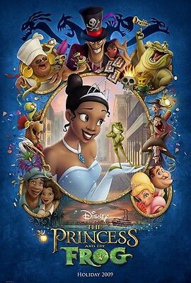 Walt Disney's The Princess and the Frog movie poster (b)  : 11 x 17 inches