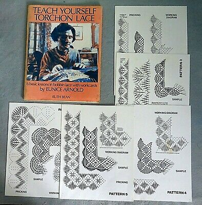 Teach Yourself Torchon Lace - Eunice Arnold 1979
