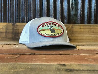 Red Dirt Hat Co Fish Texas Red Fish Richardson 112 Snapback