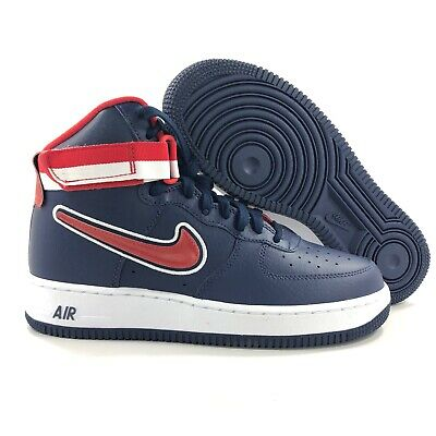 NIKE AIR FORCE 1 High '07 LV8 Sport NBA Wizards Blue AV3938 400 Men's 9.5