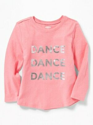 NWT OLD NAVY GIRLS SHIRT TOP Dance pink      5T