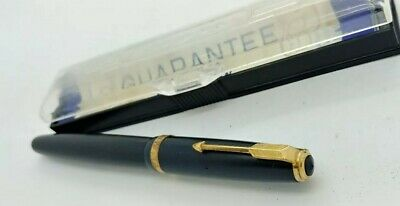Vintage Parker Duofold 14K Fountain Pen w/case