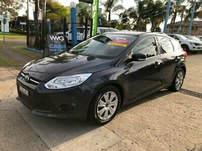 2011 Ford Focus LW Trend Grey Automatic A Hatchback
