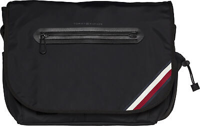 9010c94430 TOMMY HILFIGER ELEVATED Reporter Novelty Mens Bag Messenger - Black ...