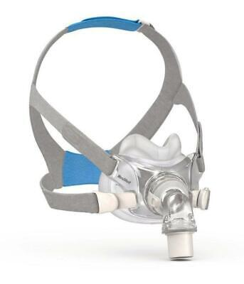 Resmed Airfit F30 Full Face Cpap Mask - New - Medium Or Small