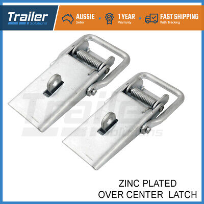 Over Centre Door Lock Catch Latch Trailer Horse Float Camper Ute Fastener