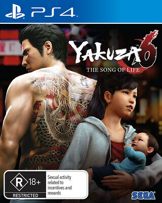Yakuza 6 The Song of Life Essence of Art Edition PS4 Game NEW