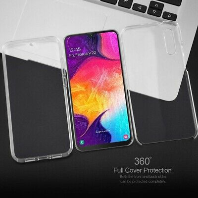 360° Protection Soft Front Hard Back Case Cover For Samsung Galaxy A50 A40 A30
