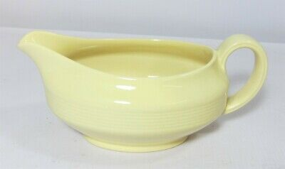 Good Condition Woods Ware 'Jasmine' Yellow Gravy Sauce Jug Boat