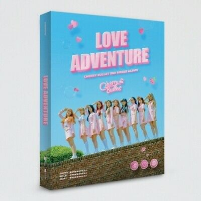 Cherry Bullet-[Love Adventure] 2nd Single CD+Poster+Booklet+PhotoCard+Selfie+etc