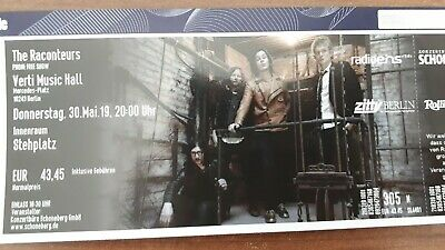 The Raconteurs : Live in Berlin, 2x Tickets Innenraum (Jack White, White Stripes
