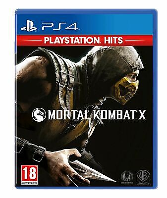 PlayStation Hits Mortal Kombat X PS4 Brand New Sealed Official Game PEGI 18