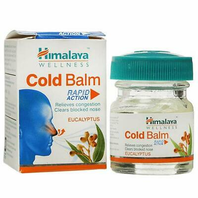 Himalaya Herbal Cold Balm 10g Nasal Chest Congestion Body Aches Headaches 5 Pack
