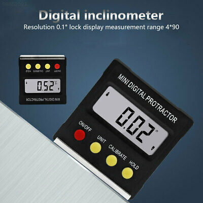 8D99 ABS Black Angle Measuring Ruler Multifunctional Peofessional Level