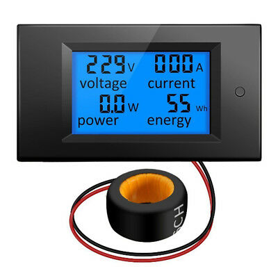 100a LCD Digital Volt voltage Watt courant wattmètre Ampèremètre Voltmè dm