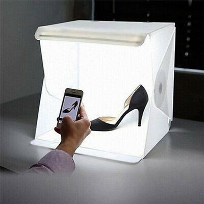 Photo Photography Studio Lighting Portable LED Light Room Tent Kit Box dm